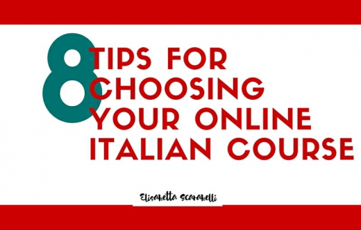 Tips for choosing Italian online course
