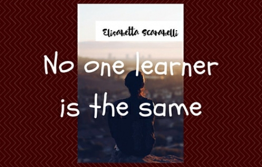 No one learner is the same2