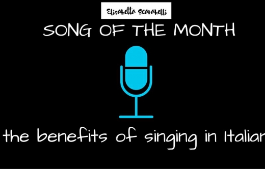 Song of the Month ITALIAN