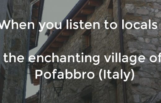 The enchanting village of Pofabbro