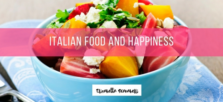 Italian food and happiness