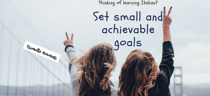 Small goals and baby steps when learning a language 2